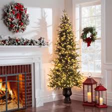 artificial tree lights problem small space no problem a corner christmas tree fits just about
