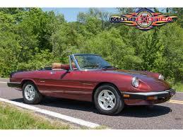 classic alfa romeo spider 1988 alfa romeo spider veloce for sale classiccars com cc 840395