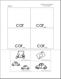 Car Worksheet Car Words Cut And Paste Worksheet K 1 Words From Words I