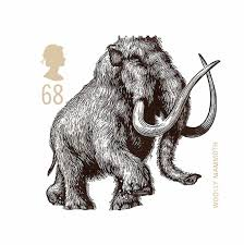 royal mail stamps u2013 woolly mammoth mammoths