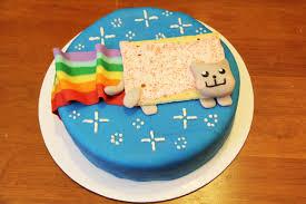 Meme Cake - nyan cat cake nyan cat pop tart cat know your meme