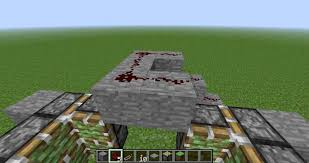 Minecraft Blinds Door Activate Using Redstone Torch In Super Operator Mod Minecraft