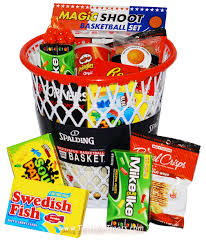 sports gift baskets sports gifts baskets treats