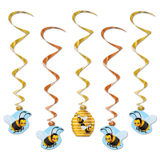 bumblebee party supplies shop for bumblebee whirls decorations hanging decorations plus