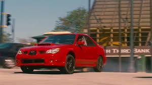 subaru sti 2016 red baby driver trailer shows a subaru wrx getting sideways the drive