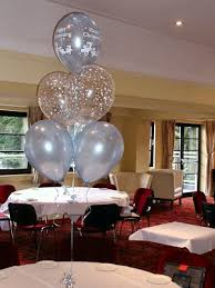 christening balloon decorations