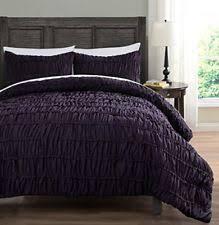Purple Ruffle Comforter Ruched Comforter Ebay