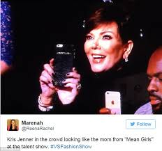 Victoria Meme - kris jenner pokes fun at herself by sharing meme after kendall s