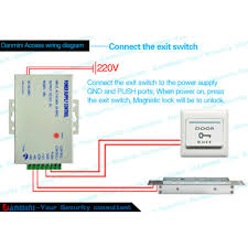 electric magnetic door lock access control rfid password entry