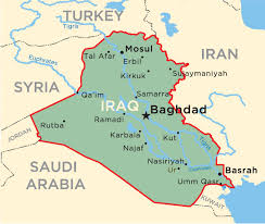 map of irak a map of iraq major tourist attractions maps