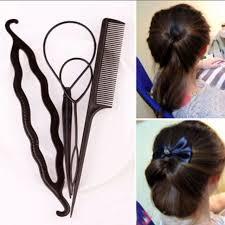 hair bands for aliexpress buy 4pcs ponytail creator plastic diy hair