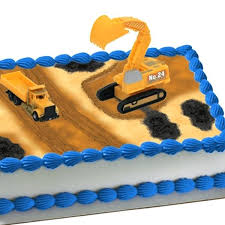 construction cake toppers construction cake topper set decorating ideas use kids toys for a