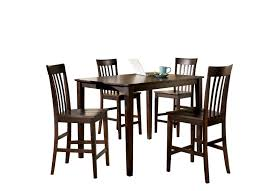 Dining Table Manufacturers In Bangalore Dining Table - Hyland counter height dining room table with 4 24 barstools