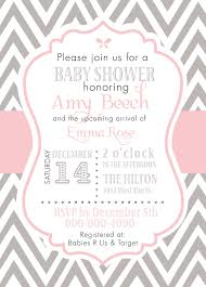 elephant baby shower invitations pink and gray elephant baby shower invitation digital file diy