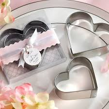wedding cookie cutters heart shape cookie cutters wedding favors