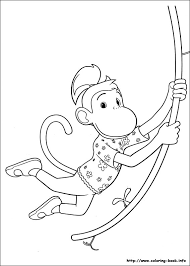 babar adventures badou coloring pages coloring book