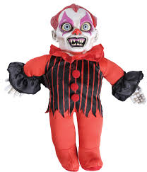 haunted halloween doll giggles the clown mad about horror