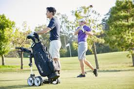 most reliable u0026 compact motorized golf push cart qod golf usa