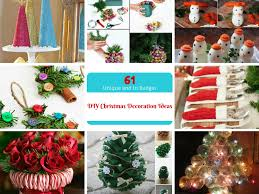 Easy Homemade Christmas Ornaments by 61 Easy And In Budget Diy Christmas Decoration Ideas Part Iii