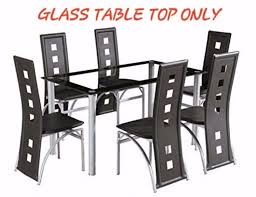 Yakoe Garden Furniture Yakoe Glass Dining Table Glass Top Only Brand New Boxed In
