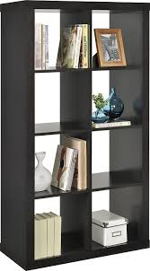 room divider bookshelf amazon com altra furniture 8 cube room divider bookcase kitchen