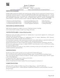 executive summary for resume examples executive summary resume samples c 1 address upon request cell