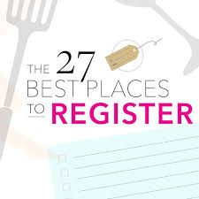 wedding registeries top wedding registries best 25 places to register for wedding