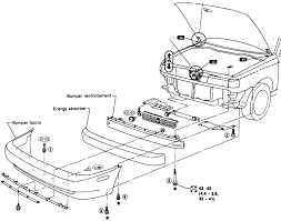 nissan sentra front bumper repair guides exterior bumpers autozone com