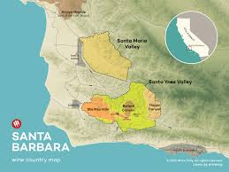 Map Of Napa Valley An Introduction To Santa Barbara Wine Country Wine Folly