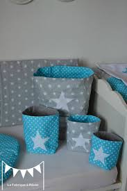 chambre bebe turquoise deco chambre bebe gris turquoise avec pochons rangement r versibles