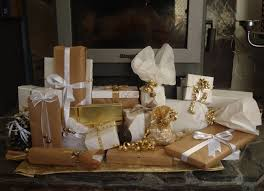 gold gift wrap creative you christmas gift wrapping ideas