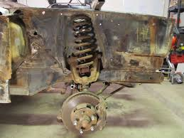 67 mustang suspension front suspension and brake removal