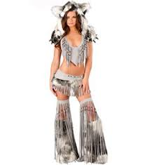 Dancer Halloween Costumes Premium Furry Gogo Dancer N8756
