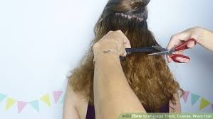 how to wesr thin wiry hair natural 3 ways to manage thick coarse wavy hair wikihow