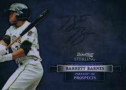 Barrett Barnes 2012 Bowman Sterling Basbeall Prospect Autographs Guide And Gallery