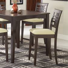 Espresso Dining Room Furniture by Hillsdale Tiburon 40 X 40 Counter Height Fix Top Dining Table