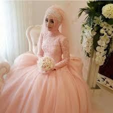 Cheap Online Wedding Dresses Click To Buy U003c U003c Vintage Arabic Turkish Muslim Pink Wedding Dresses