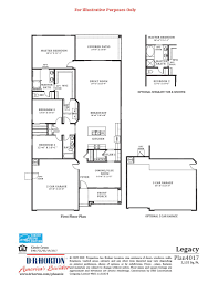 Floor Plan Company by Legacy Circle Cross Ranch San Tan Valley Arizona D R Horton