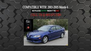 mazda inc how to replace mazda 6 key fob battery 2003 2004 2005 youtube