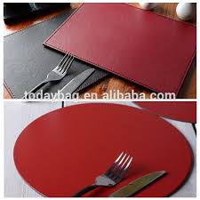 Leather Placemats For Conference Table Faux Leather Placemats Wholesale Leather Placemats Suppliers