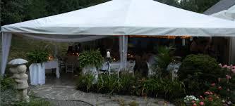 backyard tent rentals tent rental cincinnati a gogo tent rental