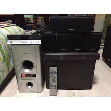 kenwood 5 1 home theater system pioneer s st303 5 1 home theater system with remote control set