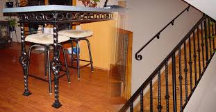 Interior Railings And Banisters Hess Ornamental Iron Specializing In Custom Metal Railings