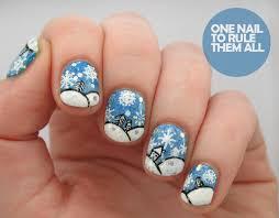 nail art design for winter best nail 2017 piggieluv wet winter