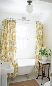 size of clawfoot tub shower curtain clawfoot tub shower curtain