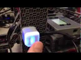 vex robotics led lights vex iq touch led with robotc youtube