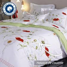 percale de coton parure de lit 240x220 cm percale pur coton seduction amazon fr