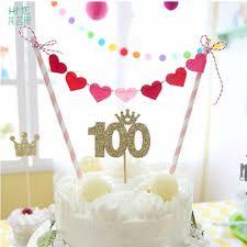 Dessert Flags 1pc Multi Shaped Birthday Cake Flag Cartoon Cake Flags For Wedding