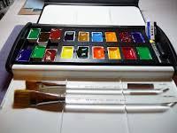 Vemco Drafting Table Assembling A Custom Watercolor Full Pans Set Box Lung Sketching