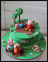 peppa pig cake ideas peppa pig these cool items are gift what a neat
